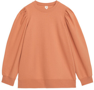 Arket Puff Sleeve Sweatshirt
