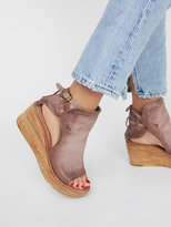 Free People Nathan Leather Wedge