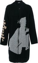 Yohji Yamamoto embroidered cardigan - men - Wool - 3