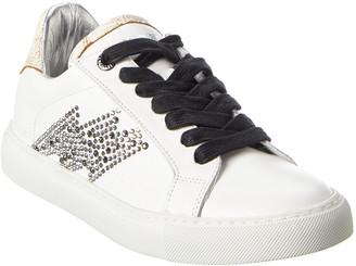 Zadig & Voltaire Zv1747 Leather Sneaker