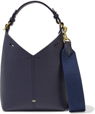 Anya Hindmarch Build A Bag Mini Pebbled-leather Shoulder Bag