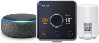 Hive Active Heating And Hot Water Thermostat, Radiator Control And Amazon Echo Dot (3Rd Gen) - Black