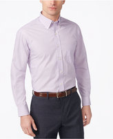 Club Room Estate Classic-Fit Wrinkle Resistant Lavendar Dress Shirt, Created for Macy's