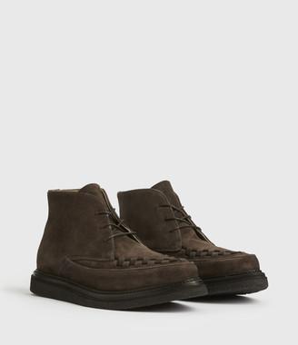 AllSaints Leon Suede Boots