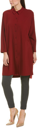 Lafayette 148 New York Kyrie Wool-Blend Tunic