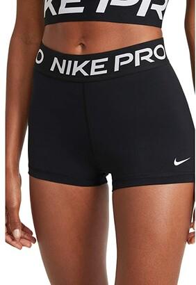 Nike Pro 3 Short (Black/White) Women's Shorts