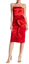 Parker Lourdes Strapless Cocktail Dress