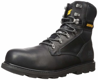 Caterpillar Men's Indiana 2.0 Steel Toe Construction Boot Black 8.5 W US