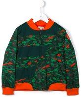 Kenzo jungle print bomber jacket