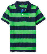 Ralph Lauren Boys 2-7 Short Sleeve Striped Polo Shirt