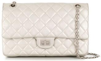 Chanel Pre Owned 2007-2008 2.55 Double Flap Shoulder Bag