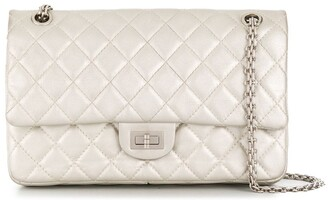Chanel Pre Owned 2012 2.55 Double Flap Shoulder Bag