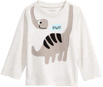 First Impressions Baby Boys Dinosaur-Print T-Shirt