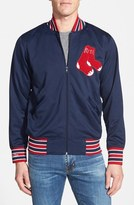 Mitchell & Ness 'Authentic BP - Boston Red Sox' Double Knit Baseball Jacket