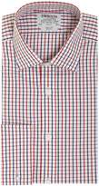 T.M.Lewin Men's Check Slim Fit Long Sleeve Formal Shirt