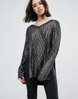 Religion Glint Sweater