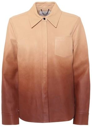 Dorothee Schumacher Degrade leather shirt