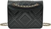 Tory Burch Fleming Geo-Leather Medium Bag