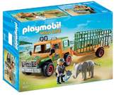 Playmobil Ranger's Truck with Elephant Playset