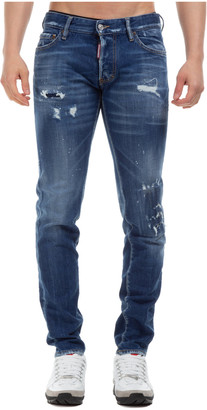 DSQUARED2 Knee Patch Jeans