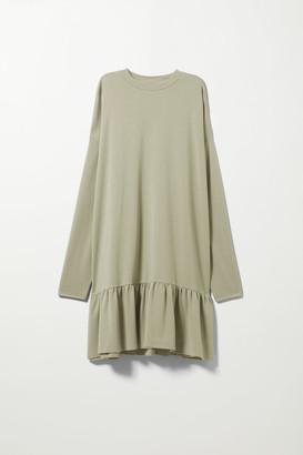 Weekday Erina Long Sleeve Dress - Black