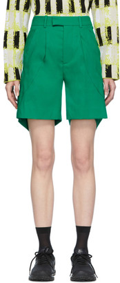 Namacheko Green Muuyaw Shorts