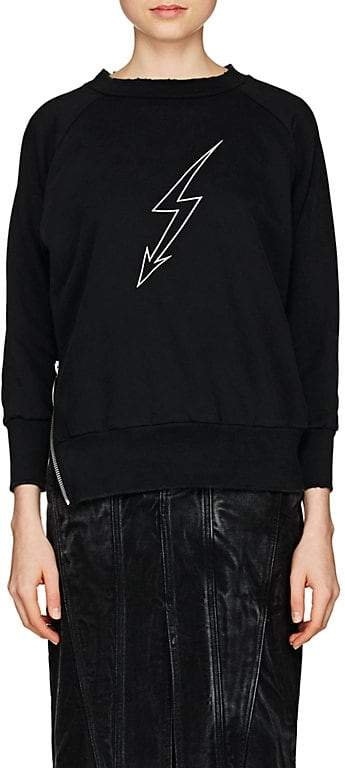 Givenchy Women's Graphic Cotton Terry Sweatshirt
