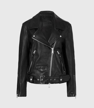 AllSaints Luna Shearling Biker Jacket