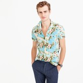 J.Crew Short-sleeve camp-collar shirt in floral print