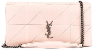 Saint Laurent Jamie Baguette Bag in Marble Pink | FWRD