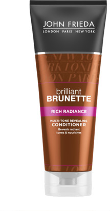 John Frieda Brilliant Brunette Rich Radiance Moisturising Conditioner 250ml