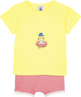 Petit Bateau Summer shorts & t-shirt cotton set 3-36 months