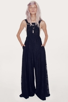 Wildfox Couture Rodeo Queen Dungarees in Clean Black