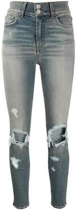 Amiri Thrasher high-waisted skinny jeans