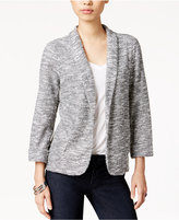 Maison Jules Marled Textured Blazer, Only at Macy's