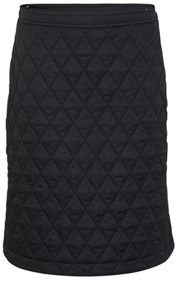 Burberry Diamond Quilted A-line Skirt