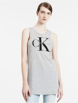 Calvin Klein Jeans Logo Long Tank Top