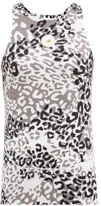 adidas by Stella McCartney Truepurpose Animal Recycled Fibre-blend Tank Top - Animal