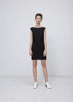 Courreges black dress new 100