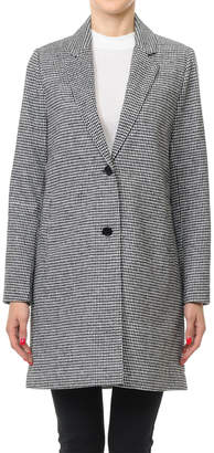 SBS Fashion Fashion Women's Blazers Black/white - Black & White Houndstooth Single-Breasted Blazer - Women