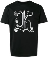 Christopher Kane metallic K unisex T-shirt - men - Cotton - M