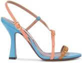 L'Autre Chose slingback heel sandals