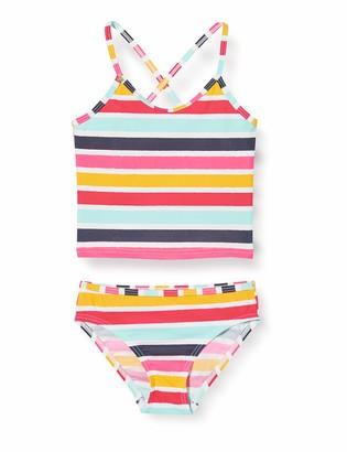 Esprit Girl's Treasure Beach Mg Tankini+Mini Bikini Set