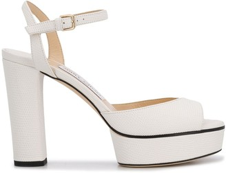 Jimmy Choo Peachy 105mm platform sandals