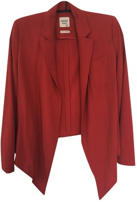 Hermes Red Wool Jackets