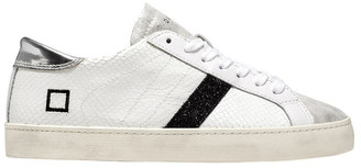 D.A.T.E Hill Low White Sneaker