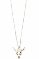 Vanessa Mooney Longhorn Necklace in Silver
