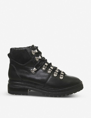 Office All-above leather hiking boots