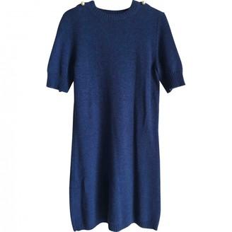 Chanel Blue Cashmere Dresses