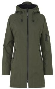 Ilse Jacobsen Long Army Raincoat - UK 10/DE 36/US 8